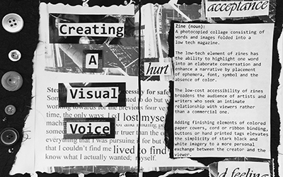 Creating a Visual Voice: Zine Making with Harley Kirschner