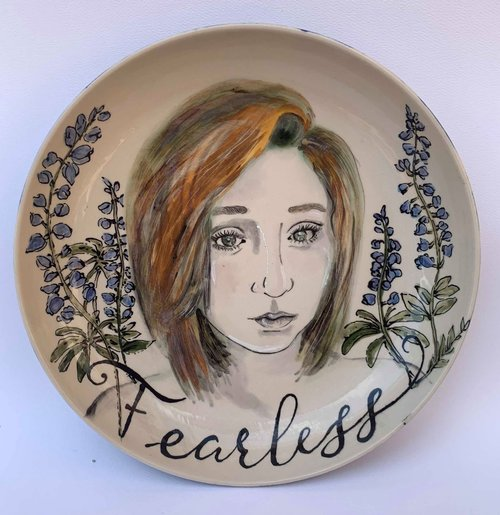Ceramic Glazed Portraits with Helen Atkins