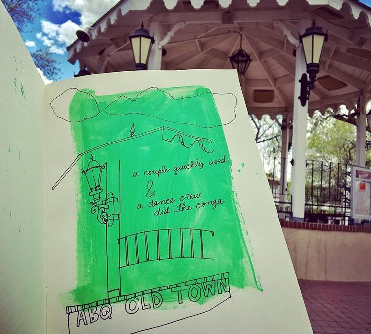 Sketchbook Adventures with Becky Weishampel