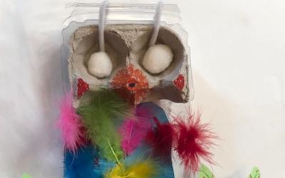 Eco-Friendly Found Object Art-Making