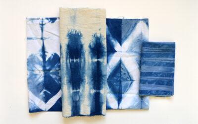 Indigo Dyeing Workshop: Basics of Shibori with Molly Zimmer